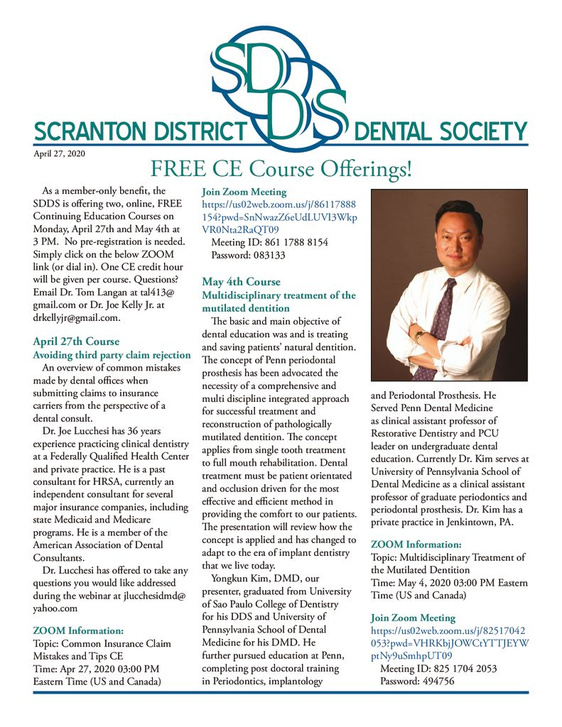 Scranton Dental April Newsletter